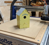 Make a Bluebird house with a ShopBot