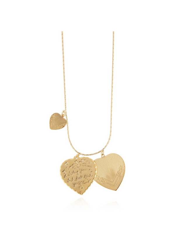 Love necklace gold L