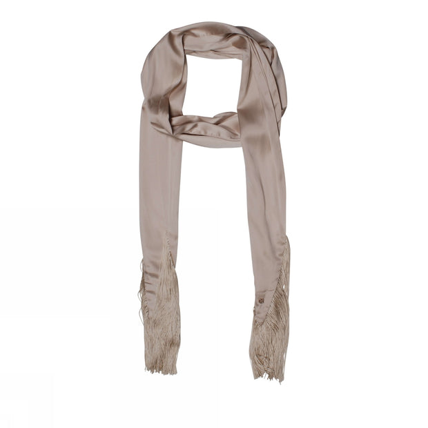 Long Fringes Scarf