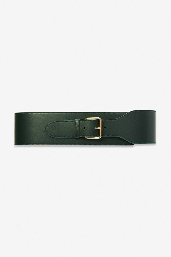 Leather High Belt