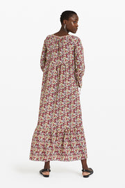 Patterned Long Dress