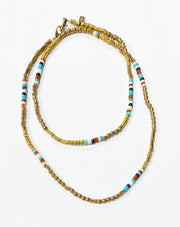 Kinshasa Gemstone Necklace