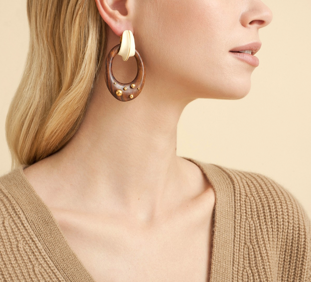 Boa Earrings