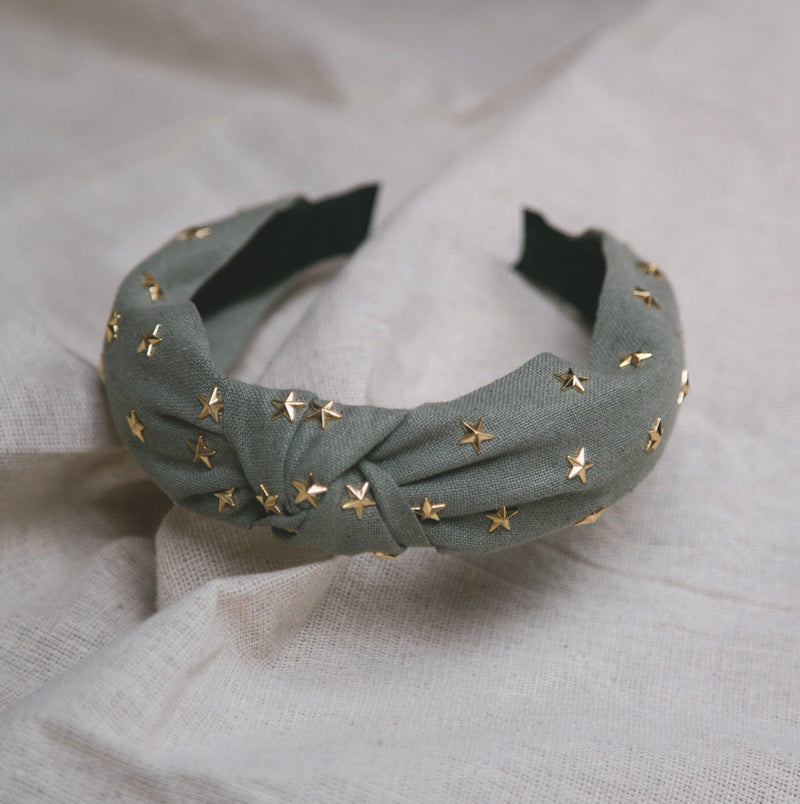 Bella Star Headband - Green