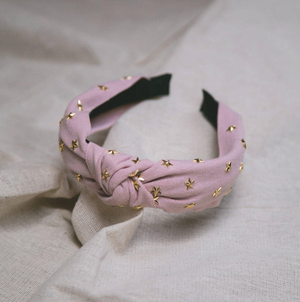 Bella Star Headband - Pink