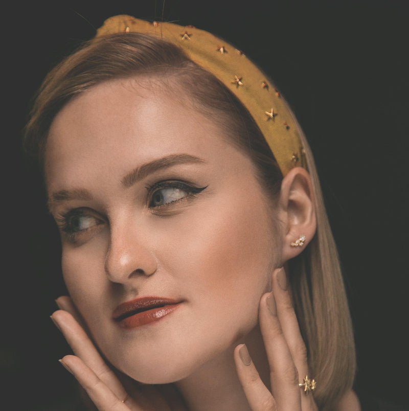 Bella Star Headband - Yellow