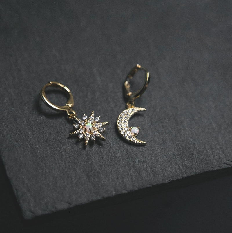 Esmae Moon & Star Earrings - Luna Charles