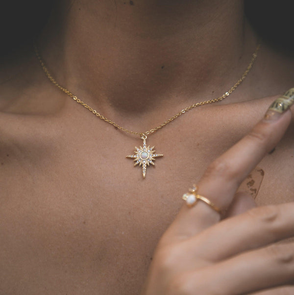 North Star Pendant Necklace