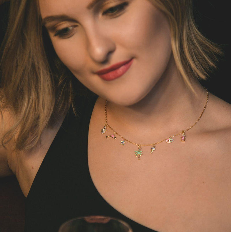 Chardonnay Tropical Necklace - Luna Charles