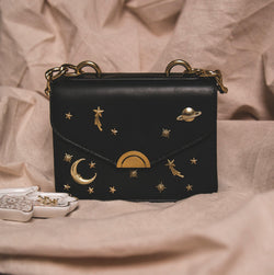 Venus Space Shoulder Bag - Black