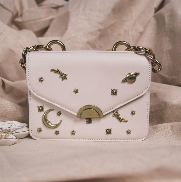 Venus Space Shoulder Bag - White