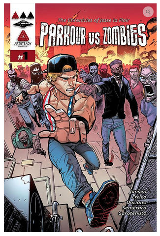 Chronicles of Jesse La Flair: Parkour VS Zombies Comic Book