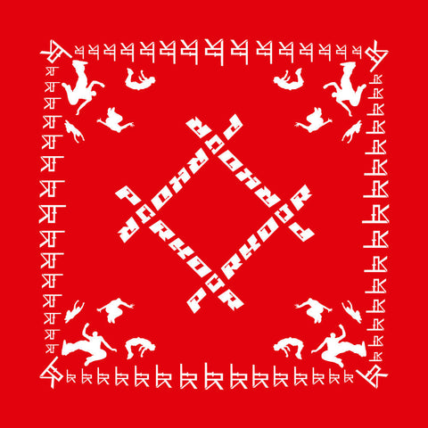 LFPK Red Bandana - La Flair