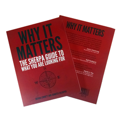 Why It Matters: The Sherpa Guide to What You Are Looking For