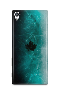 Sony Black ice skin phone case