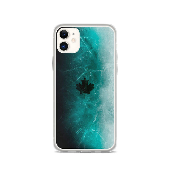 iPhone Black Ice Skin Case