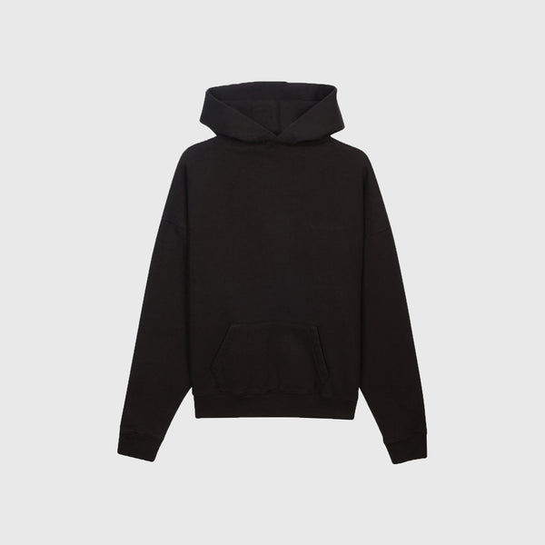 NO FAKE FRIENDS HOODIE - BLACK PUFF