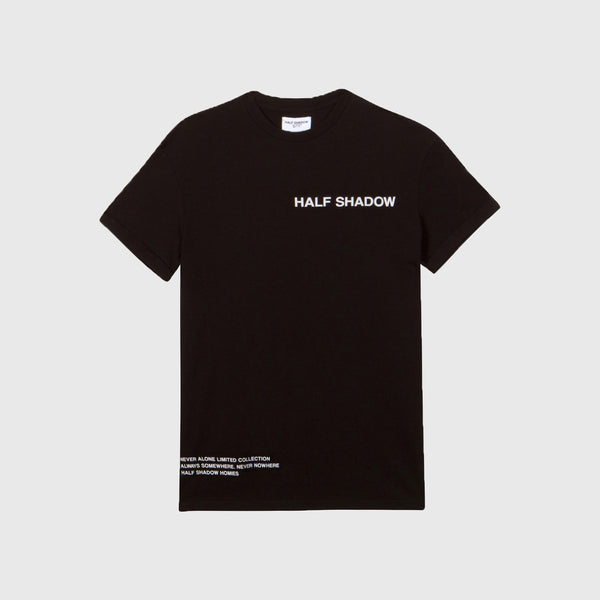 NO FAKE FRIENDS TEE - BASIC BLACK