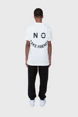 NO FAKE FRIENDS TEE, HALF SHADOW TEE, HOODIE, CREME WHITE TEE, TEE, TSHIRT, CREME WHITE LOGO TSHIRT, CREME WHITE TSHIRT, HALF SHADOW HOMIES, NO FAKE FRIENDS