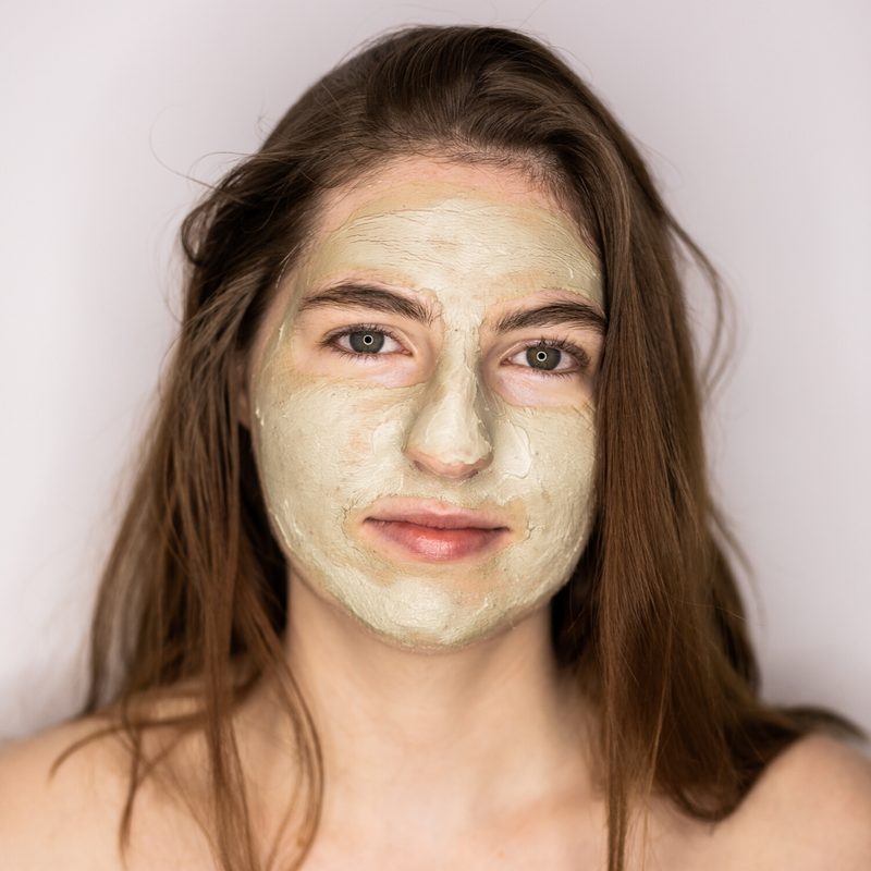 Soft Clay Face Mask, Deep Rejuvenation
