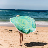 Mandala Beach Towel - Organic Cotton