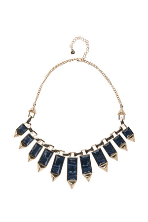 Triangular Statement Necklace