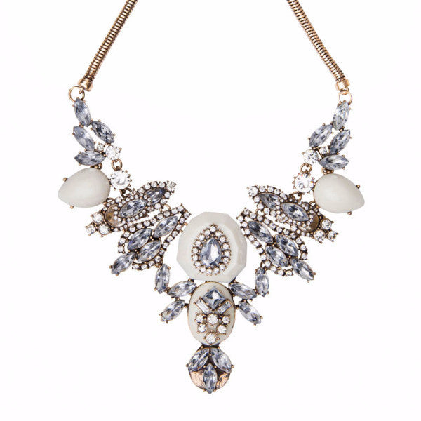 Ice & Stone Statement Necklace