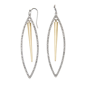 Diamante Statement Earrings