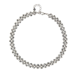 Diamond Pattern Necklace Bridal Collection