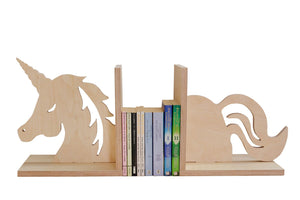 Ivy Unicorn Bookends