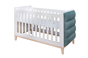 Ivy Cot with Velvet Upholstery