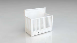 Noah Cot with Upholstery