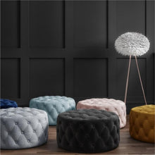 Load image into Gallery viewer, Sawyer Velvet Ottoman