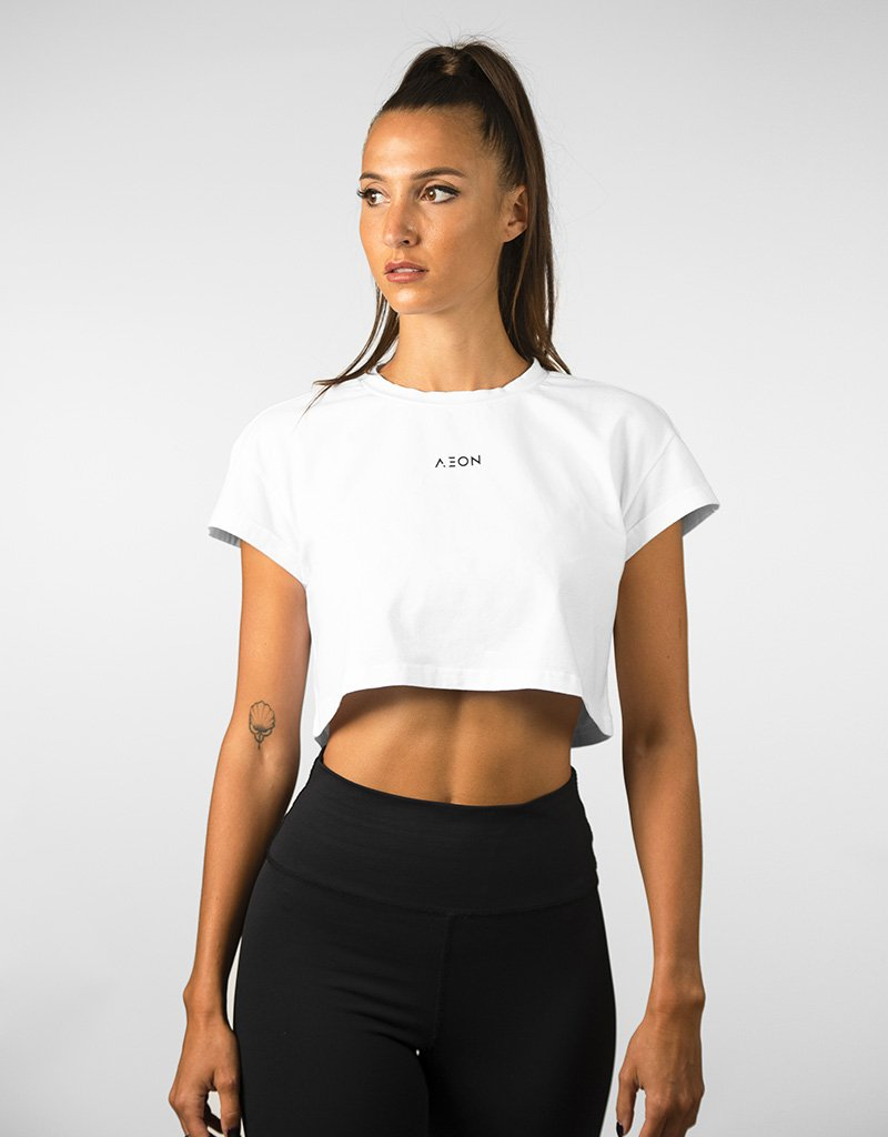 Crop Top Hera - Blanc - Aeon