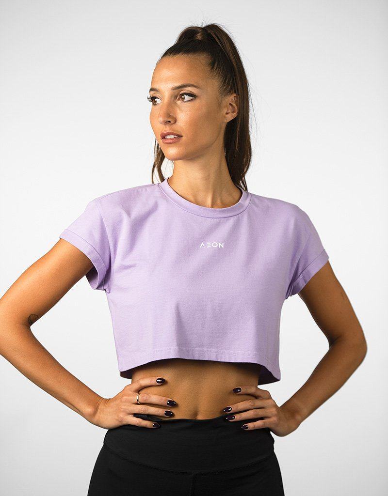 Crop Top Hera - Lilas - Aeon