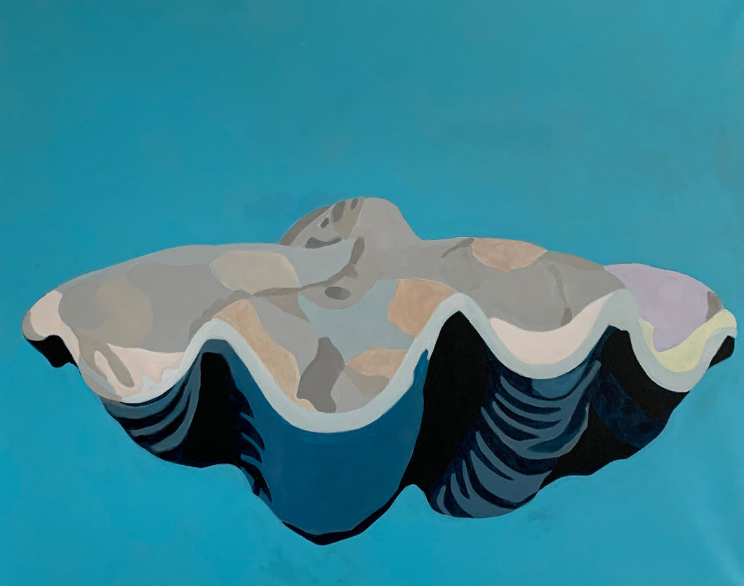 Giant Clam Shell Giclee