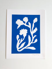 Sunprint No. 4 Giclee - Bright Blue