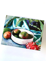 Assorted Tropical Still Life Greeting Cards (set of 6)