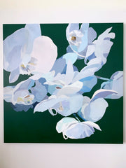 Inner Light Orchid Bouquet Giclee