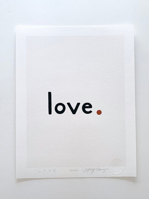 The Love Print: All Colors