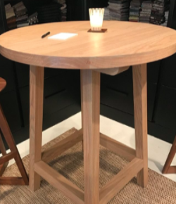 High Round Bistro Table