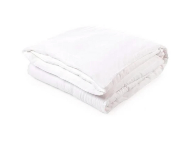 Santiago Full/Queen Duvet Cover - White