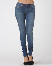 Load image into Gallery viewer, Medium Wash Stretch Skinny Jeans