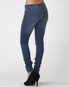 Medium Wash Stretch Skinny Jeans