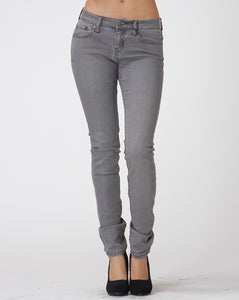 Gray Stretch Skinny Jeans