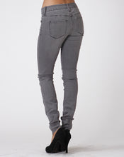 Load image into Gallery viewer, Gray Stretch Skinny Jeans