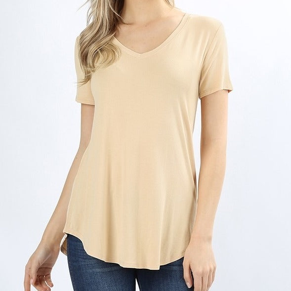 Your New Favorite Relaxed Top in Sand