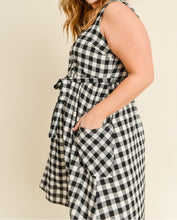 Load image into Gallery viewer, Take Me Back Plaid Dress - PLUS
