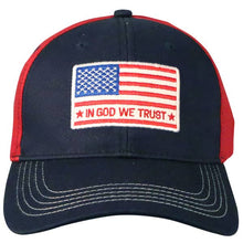 Load image into Gallery viewer, In God We Trust Patriotic Cap MEN