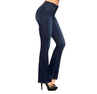 High Rise Stretch Bootcut Jeans